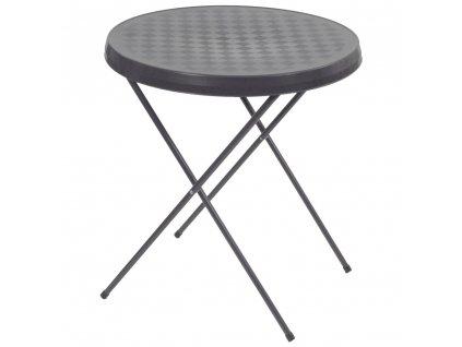 Turistický stolek Antracit 59 cm PATIO