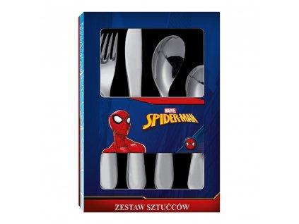 Sada dětských nerezových příborů Spiderman Spidey 4-díly DISNEY