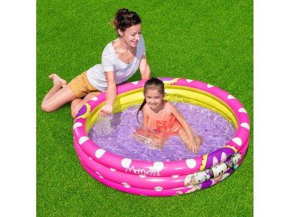 Nafukovací bazén Minnie 122 x 25 cm BESTWAY