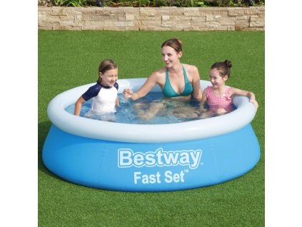 Nadzemní bazén s límcem Fast Set 183 x 51 cm 940 l BESTWAY
