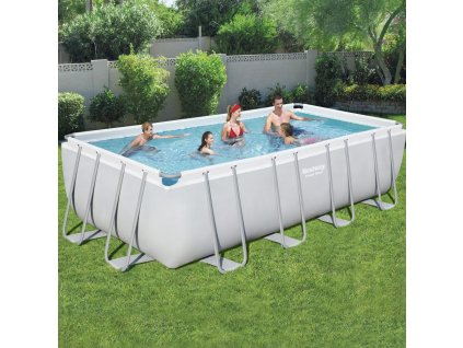 Nadzemní bazén Power Steel 549 x 274 x 122 cm 14812 l BESTWAY