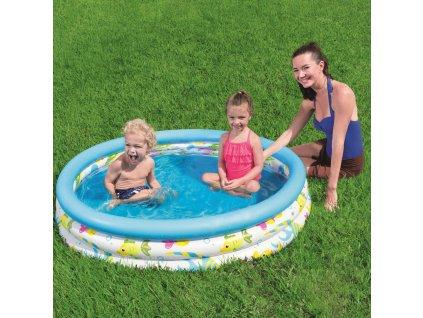 Nafukovací bazén Coral Kids Pool 122 x 25 cm BESTWAY