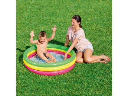 Nafukovací bazén Summer Set 102 x 25 cm BESTWAY