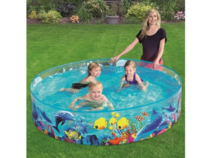 Nadzemní bazén Fill 'n Fun Odyssey Pool 183 x 38 cm BESTWAY