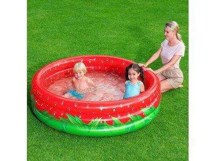 Nafukovací bazén Sweet Strawberry 160 x 38 cm BESTWAY