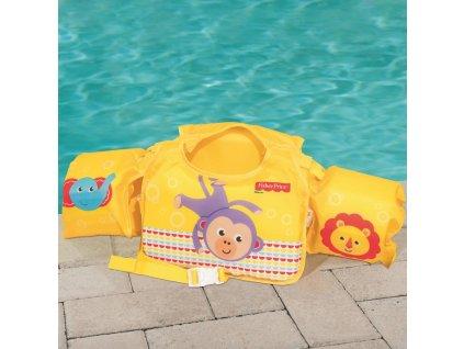 Plavecká vesta s rukávky Fisher-Price® Swim Pal BESTWAY