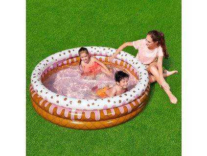 Nafukovací bazén Sundae Funday Kiddie Pool 160 x 38 cm BESTWAY