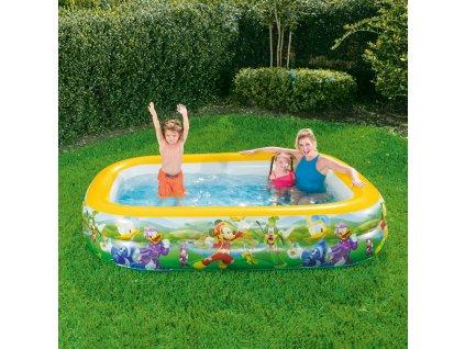 Nafukovací bazén Mickey Mouse Club 262 x 175 x 51 cm BESTWAY