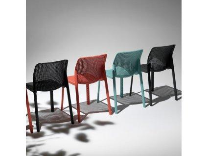 Plastová zahradní židle Bit Corallo NARDI