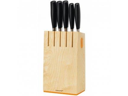 Sada nožů v bloku Functional Form Plus 6-dílů FISKARS