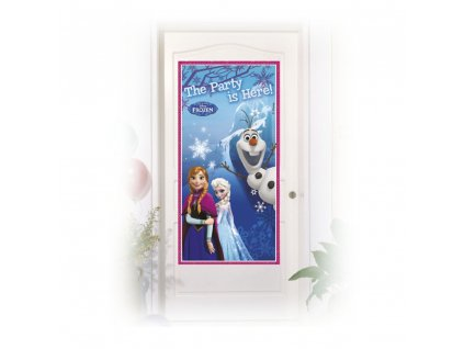 Banner na dveře Frozen 152 x 76 cm DISNEY