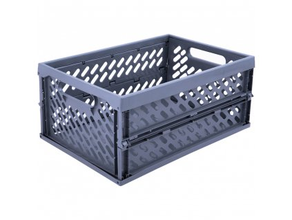 Skládací skříňka / koš Gray 34 x 24 x 16,8 cm PLAST TEAM