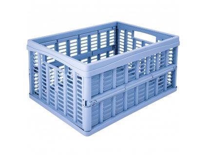 Skládací skříňka / koš Blue 35 x 48 x 24 cm PLAST TEAM