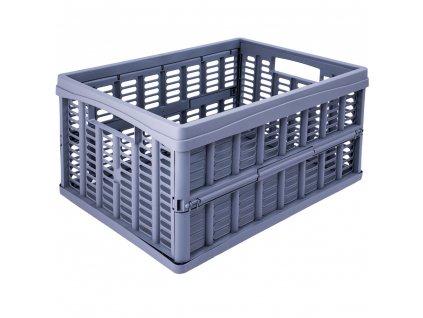 Skládací skříňka / koš Gray 35 x 48 x 24 cm PLAST TEAM