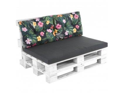 Sada sedáků na sofa z palet Megara L128-16PB PATIO