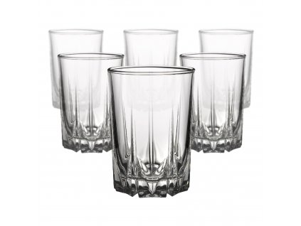 Sada 6 sklenic Karat 250 ml PASABAHCE