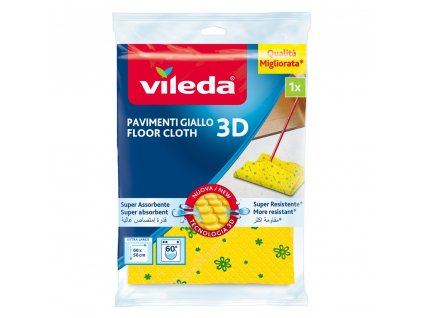 Hadr na podlahu z mikrovlákna 3D Odor Stop VILEDA