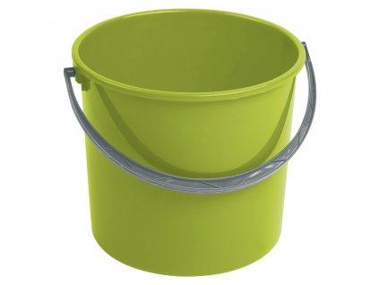 Zelený plastový kbelík bez víka 7 l CURVER