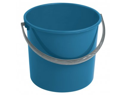 Modrý plastový kbelík bez víka 16 l CURVER