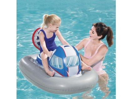 Nafukovací hračka na plavání Galactic Battleship 118 x 87 cm BESTWAY