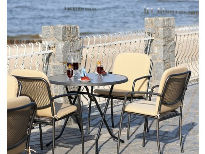 Zahradní sklápěcí stůl Dine & Relax Pizarra 70 cm PATIO