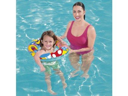 Nafukovací kruh na plavání 56 cm MIX VZORŮ BESTWAY