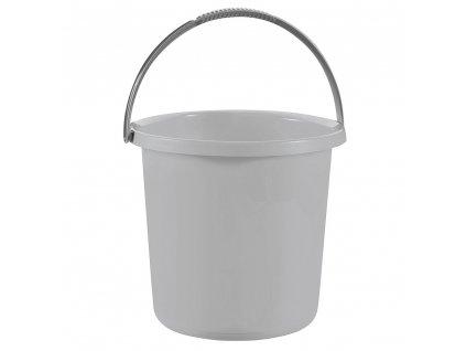 Plastový kbelík Essentials Gray 10 l CURVER