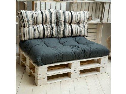 Sada sedáků na sofa z palet Termi L055-06LB PATIO