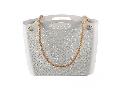 Plastová nákupní taška antic BRANQ
