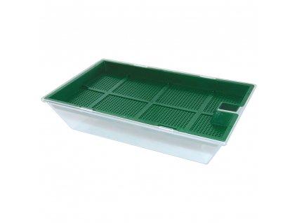 Plastová nádoba na klíčení semínek 16 x 10,3 x 3,5 cm
