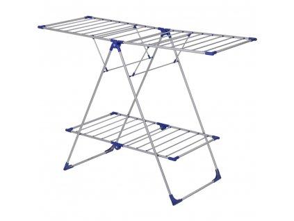 Sušák na prádlo Judyta Metalic / blue 155,5 x 62,5 x 110 cm JOTTA