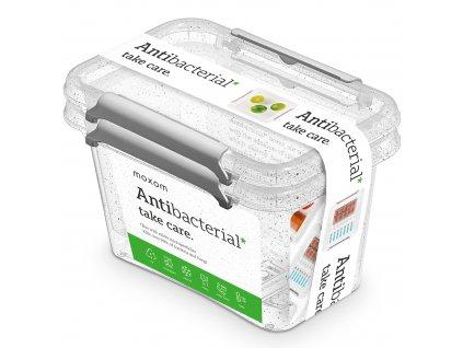 Sada 2 antibakteriálních nádobek Antibacterial* 650 ml ORPLAST