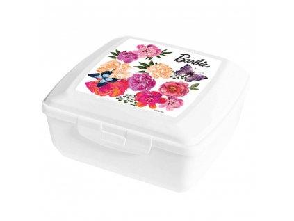Svačinový box Flowers 14,5 x 13 cm
