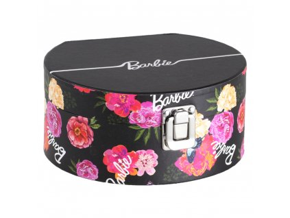 Lepenková krabička se zrcadlem Flowers 17 x 15,5 x 8 cm