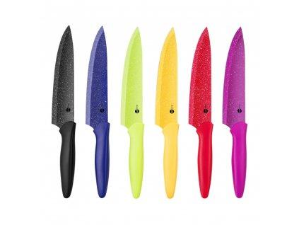 Nůž šéfkuchaře Peggy 20 cm MIX BAREV DOMOTTI