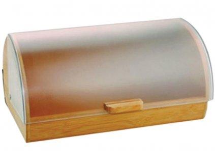 Dřevěný chlebník s plastovým víkem Gordon AMBITION