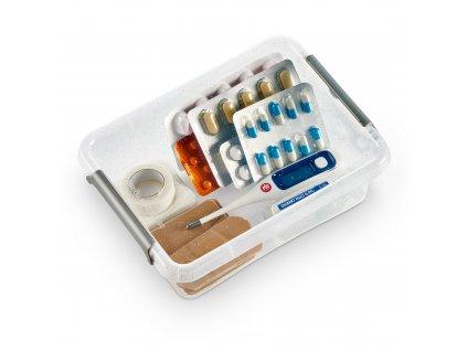 Antibakteriální nádobka Antibacterial*  1,15 l ORPLAST