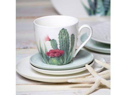 Porcelánový hrnek Cactus aloes 510 ml AMBITION