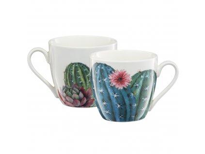 Porcelánový hrnek Cactus kaktus 510 ml AMBITION