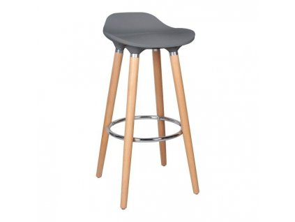 Cooke & Lewis Barová židle Chira šedá