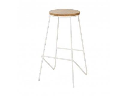 Cooke & Lewis Barová židle Maloux bílá