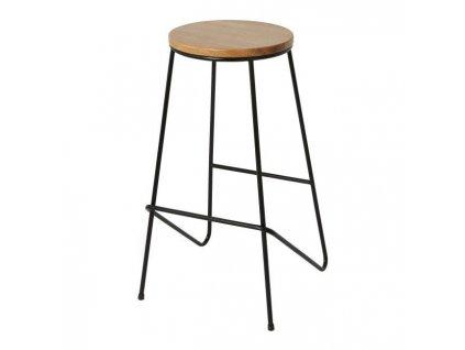 Cooke & Lewis Barová židle Maloux černá