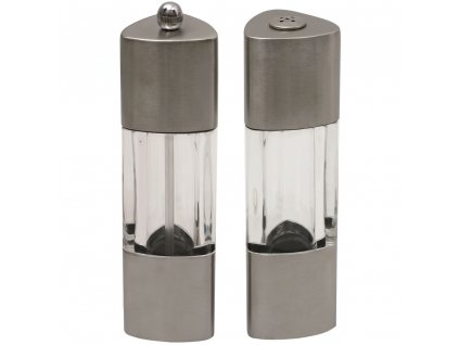 Akrylový mlýnek na pepř a solnička Elis AMBITION