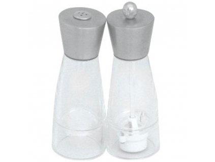 Akrylový mlýnek na pepř a solnička Mona AMBITION