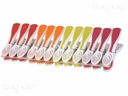 Sada bílých kolíčků na prádlo Rea 48 ks JOTTA