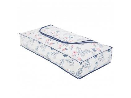 Úschovný vak pod postel Flowers 80 x 40 x 15 cm