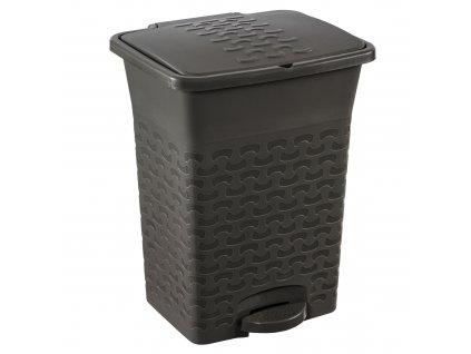 Odpadkový koš Cotton Dark Gray 10 l BRANQ