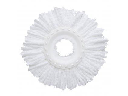 Bílá koncovka na rotační mop 16 cm