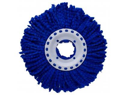 Modrá koncovka na rotační mop 16 cm