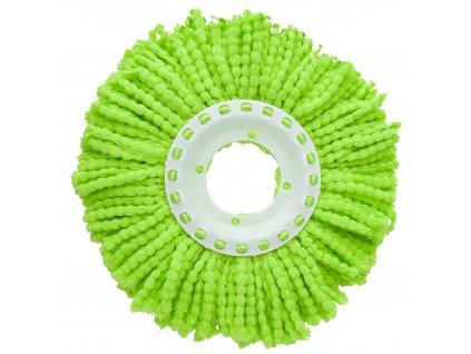 Zelená koncovka na rotační mop 16 cm